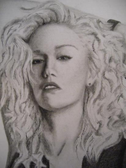 Gwen Stefani by zuzkakutt